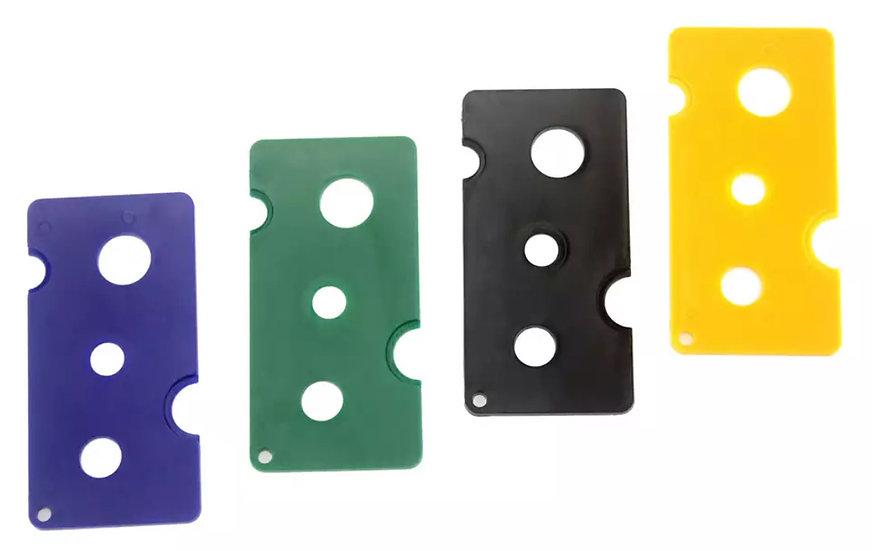 HEAVY DUTY Plastic OIL BOTTLE Key / Corkscrew