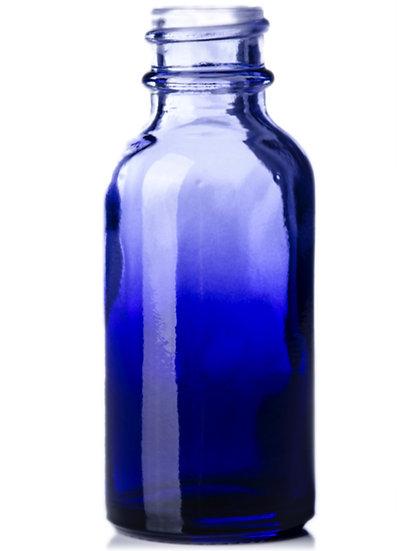 1 ounce Purple Fade Glass Bottle w/ Dropper Top