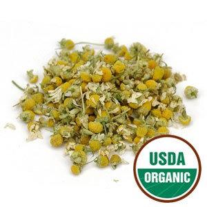 Organic CHAMOMILE FLOWERS - 4 ozs