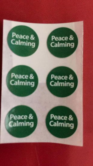 6 Peace & Calming Labels