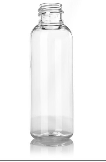 8 oz Clear PET Plastic Bottle including CLOSURE of your CHOICE