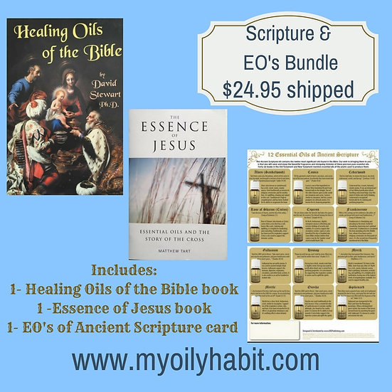 Scripture and Essential Oils bundle