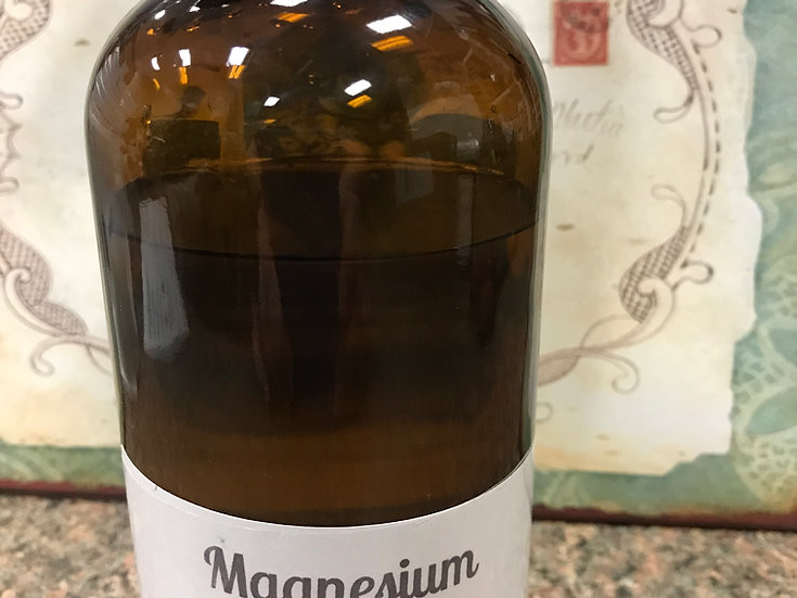 Magnesium Oil ~ 16 oz PLASTIC Spray Bottle ~ Sourced from USA ~ SPRAY INCLUDED
