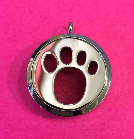 Single Paw Necklace  Diffuser