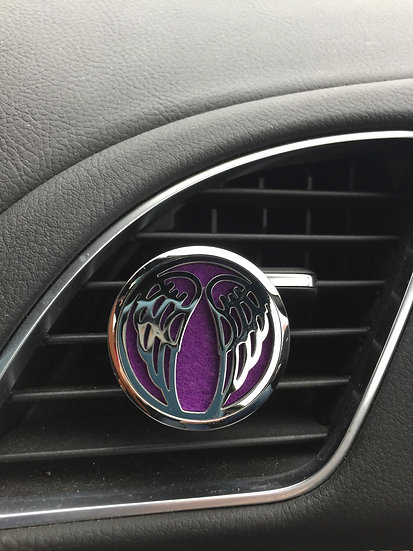ANGEL WINGS ~ Stainless Steel Car Vent Diffuser
