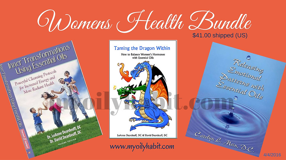 Womens Health 3 Book Bundle - Shipping Included