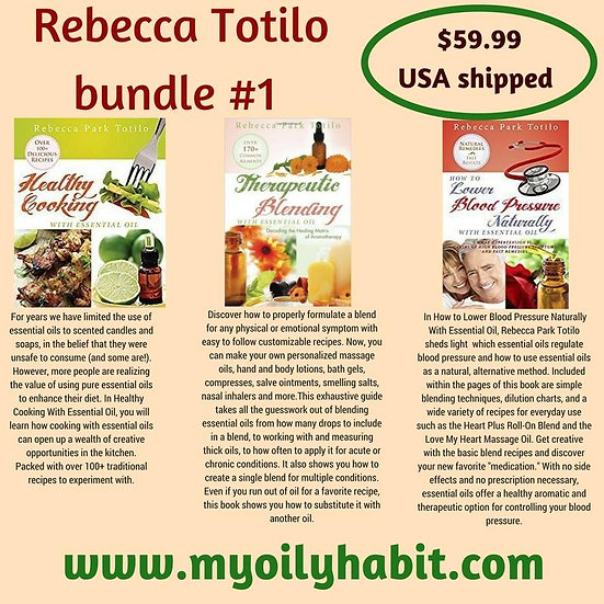 Rebecca at The Well Bundle#1 - Cooking, Blending and Blood Pressure