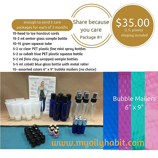 Share  Kit #1 - Shipping Included