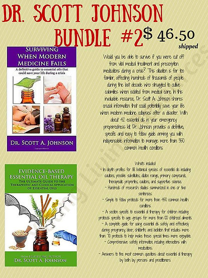 Dr. Scott Johnson Book Bundle #2