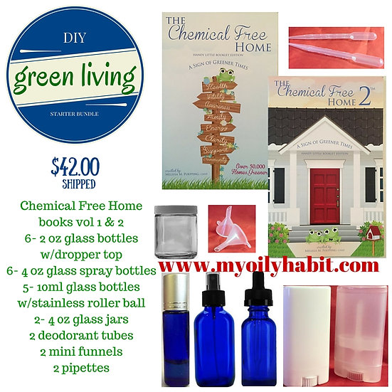 Green Living Bundle - Shipping Included