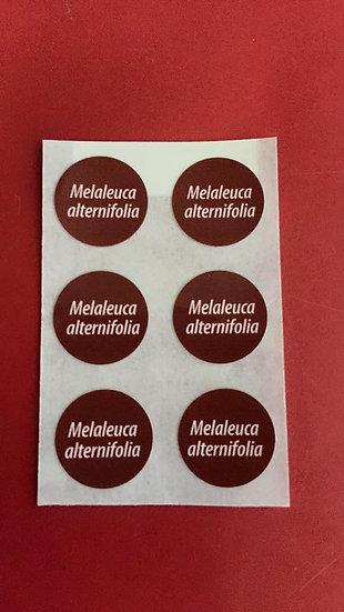 6 Mel A Labels
