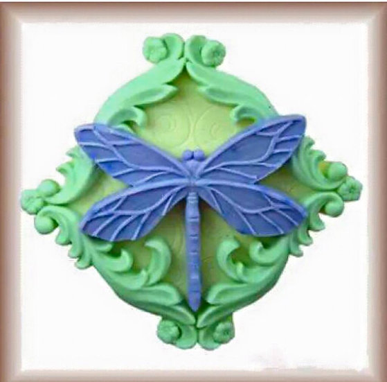Dragonfly Silicone Soap Mold
