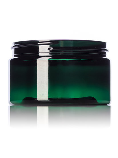 4 oz Emerald Green PET Plastic Multi Purpose Jar
