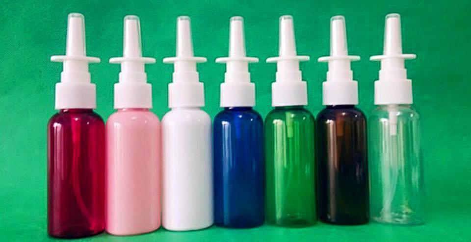50ml Pharmaceutical Grade Plastic Nasal Sprayer