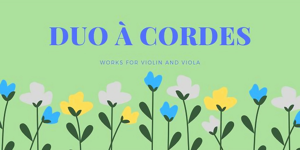 Duo a Cordes: Works for Violin and Viola