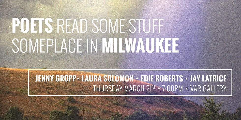 POETS READ SOME STUFF SOMEPLACE IN MILWAUKEE