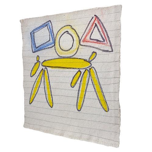 Yellow Dog/ Shapes