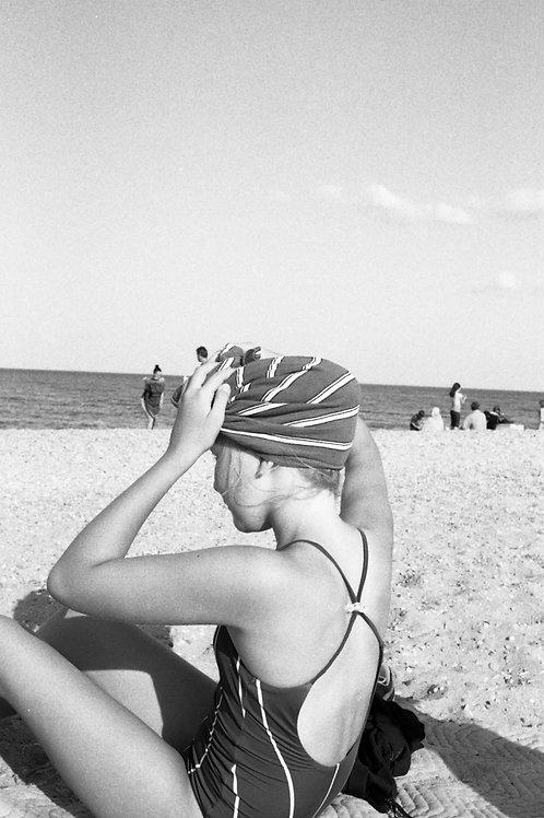 Louise from Vienna, Austria at South Grant Park Beach, 2019