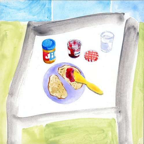 Table (Series 7), 7 of 30: Peanut Butter and Jelly Sandwich