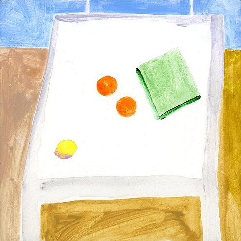 Table (Series 7), 21 of 30: Lemon, Oranges, Book