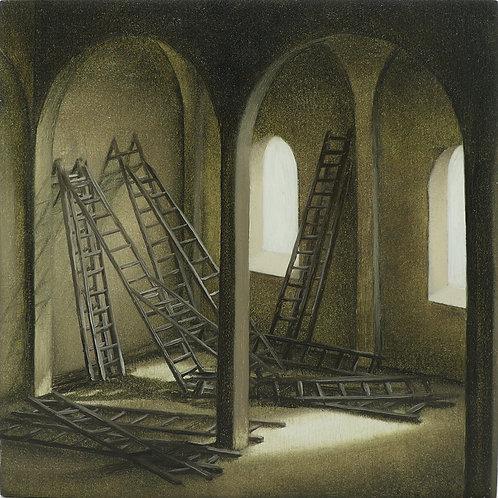 6. ladders in upper room