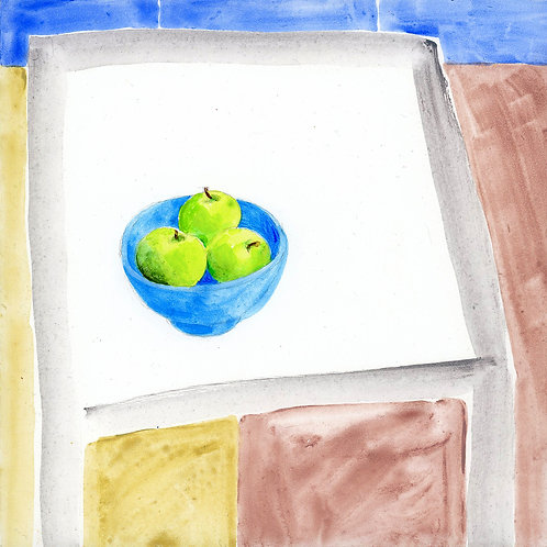 Table (Series 7), 1 of 30: Green Apples