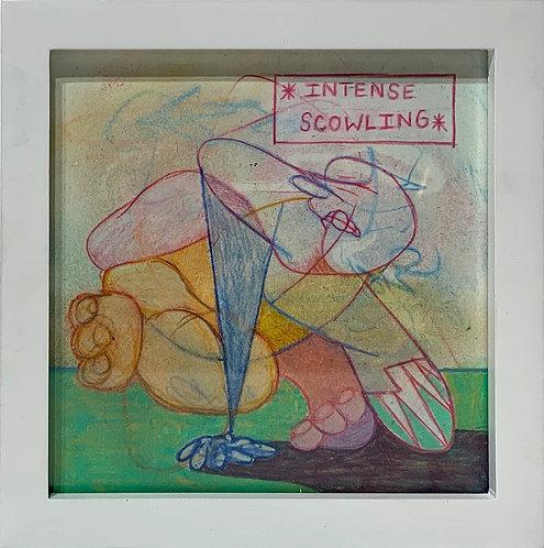 Intense Scowling. Brian Schneider