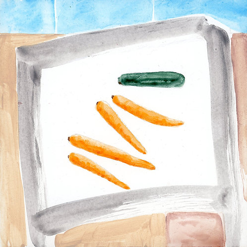 Table (Series 7), 26 of 30: Carrots and Zucchini