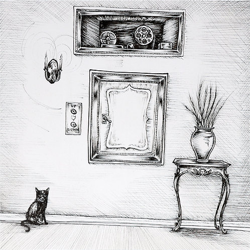 3. One Cat, One Dumbwaiter