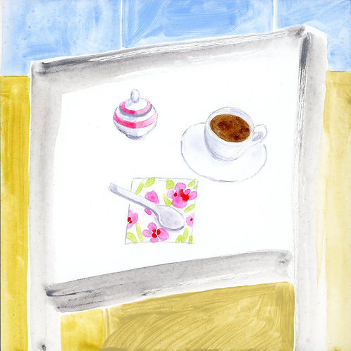 Table (Series 7), 14 of 30: Coffee and Sugar Bowl