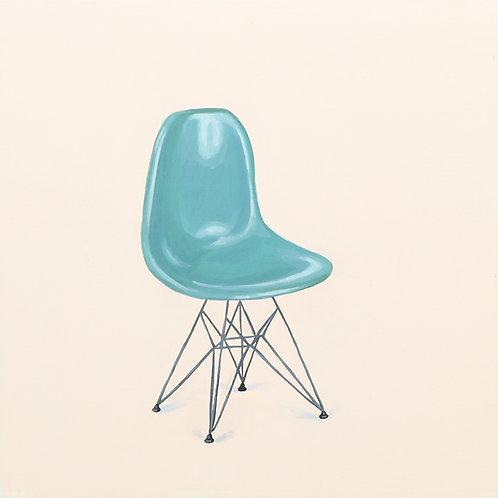 22. Eames DSR Fiberglass Chair