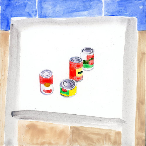 Table (Series 7), 9 of 30: Canned Goods