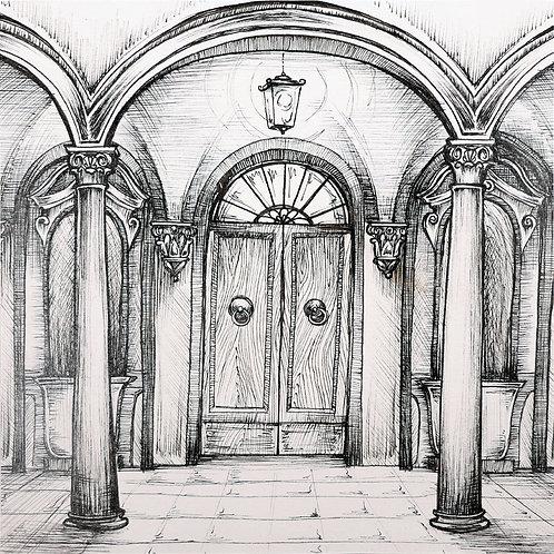 5. Renaissance Man (door)