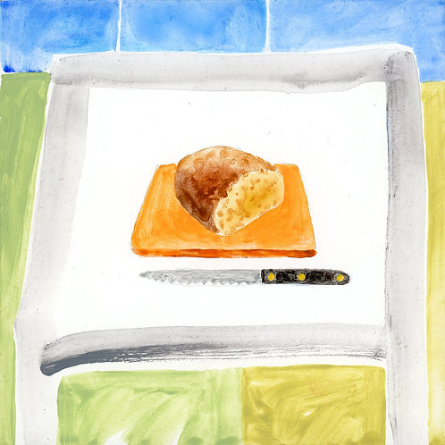 Table (Series 7), 11 of 30: Bread