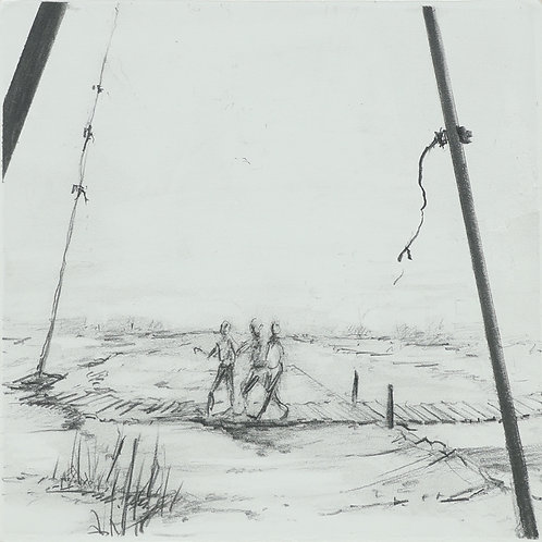 1. Three Travelers in a Landscape