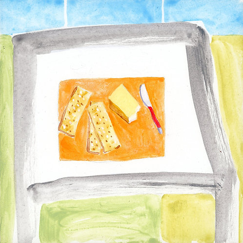 Table (Series 7), 24 of 30: Cheese and Crackers