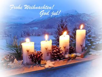 Ein frohes Weihnachtsfest - God jul!