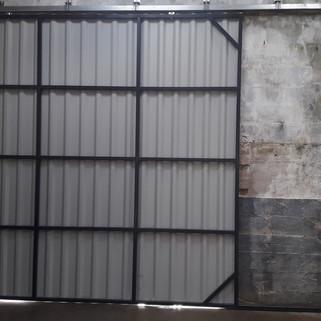 Porte coulissante hangar Bannalec