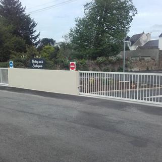 Double portail thermolaqué Bannalec