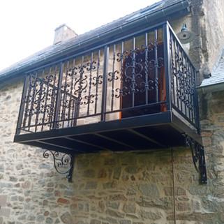 Balcon fer forgé Bannalec