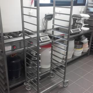 Chariot Inox boulangerie
