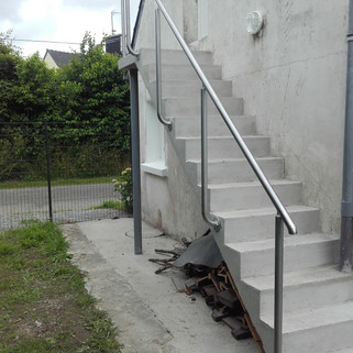 Garde-corps Inox pour escalier Le Trévou