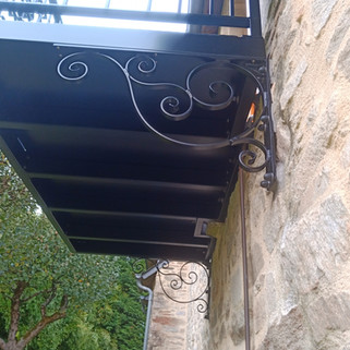 Balcon thermolaqué Bannalec