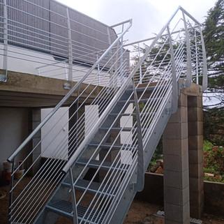 Escalier galvanisé Riec_belon