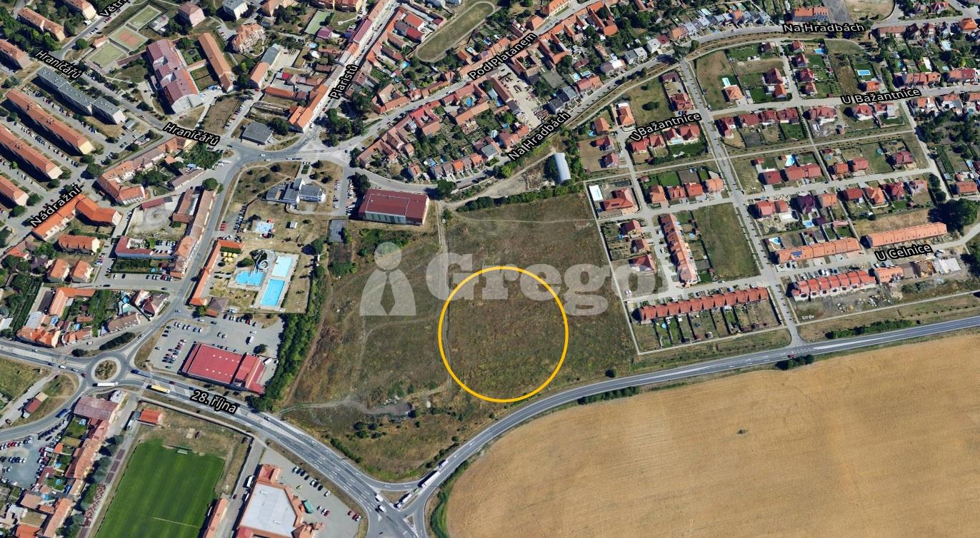 POzemek_Mikulov_mapa_Bažantnice