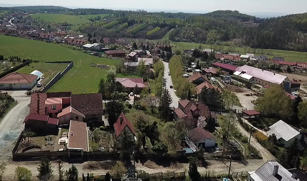 Video z dronu Hostěnice