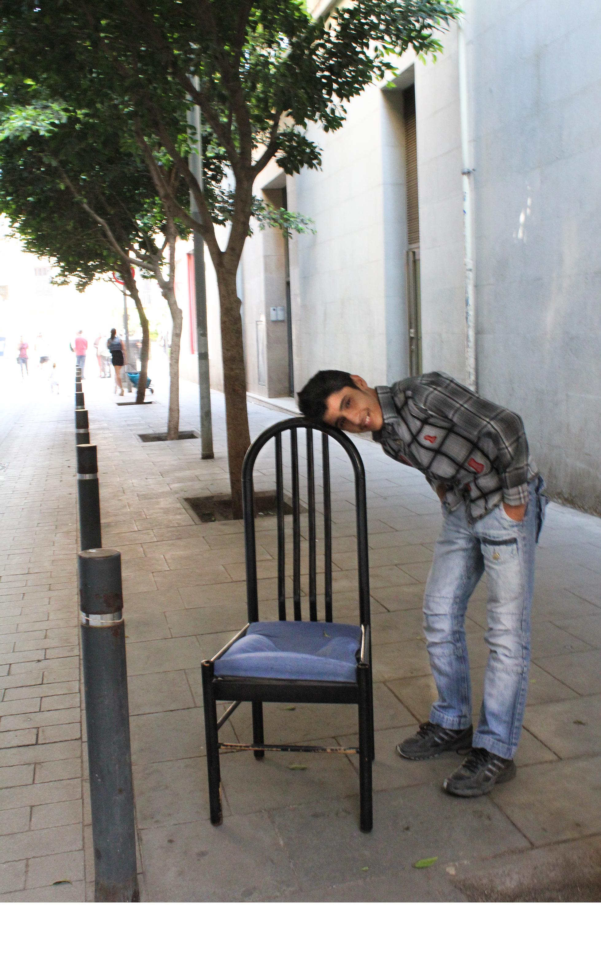 2 - Chair 2013, Barcelona Spain, C Print