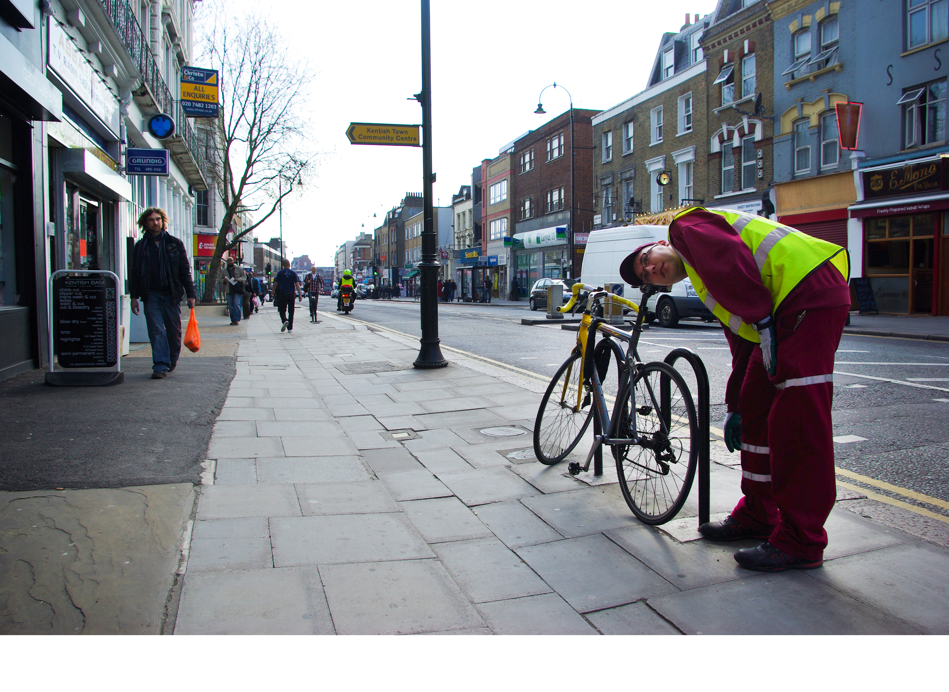 6 - Bicycle 2013, London UK, C Print