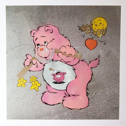 """Eine - """"Scare Bear"""" (pink)"""