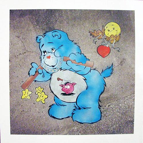 """Eine - """"Scare Bear"""" (blue)"""